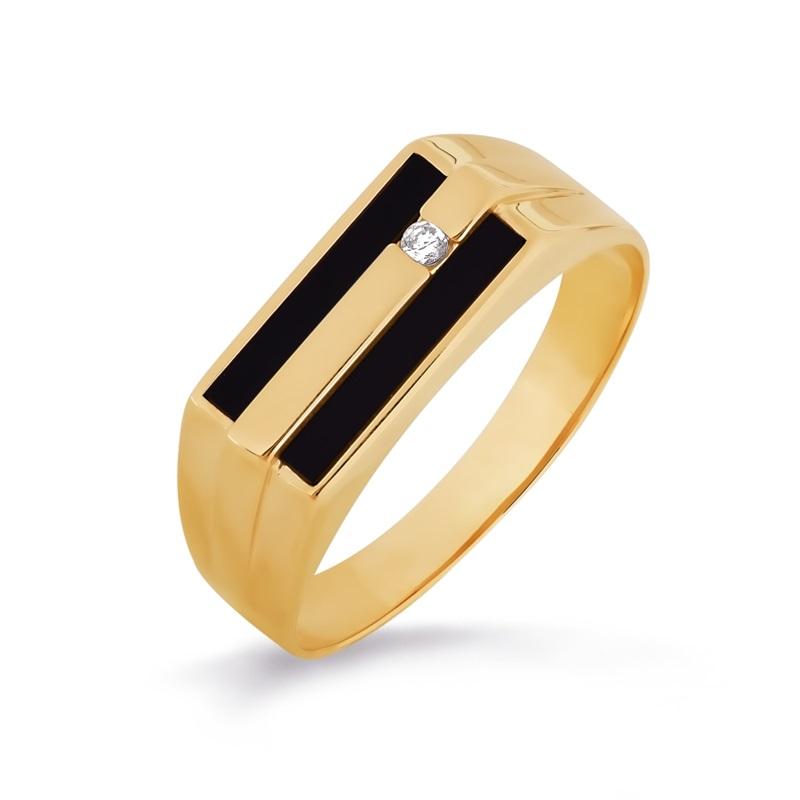 Кольцо иззолота сониксом