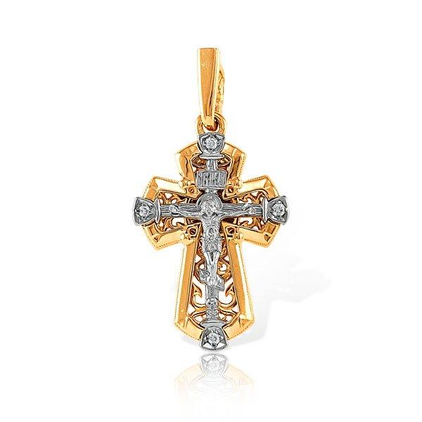 Крест иззолота сбриллиантом