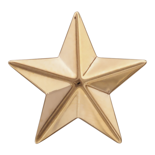 Звезда на погоны иззолота