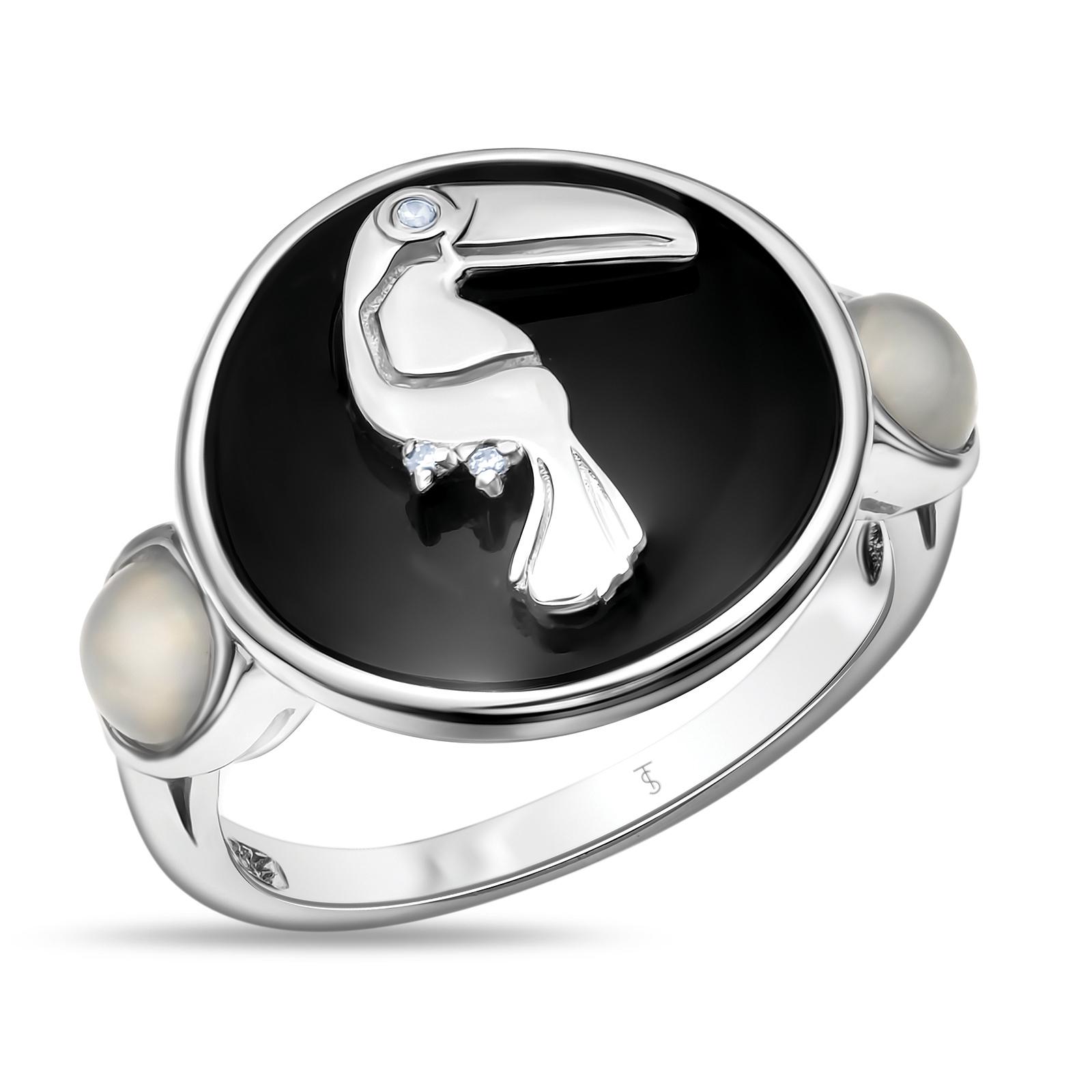 Кольцо изсеребра Миксы поделка