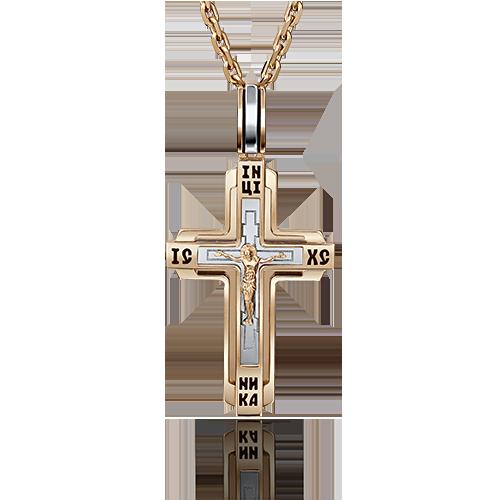 Крест иззолота
