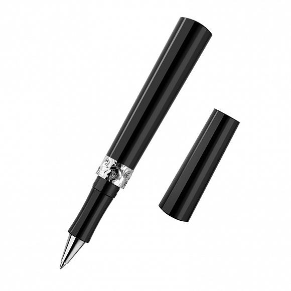 Ручка изсеребра сфианитом