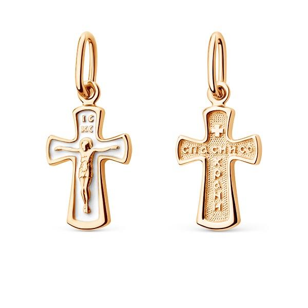 Крест иззолота сэмалью