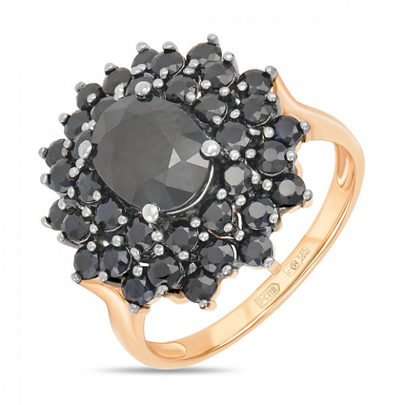 Кольцо иззолота ссапфиром