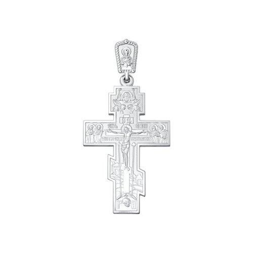 Крест изсеребра