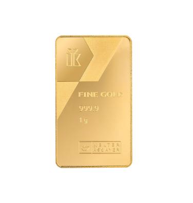 Сувенир изжелтого золота
