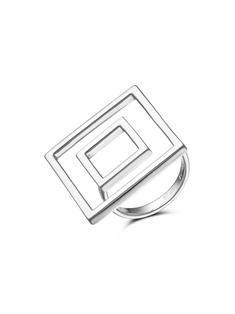 Кольцо изсеребра