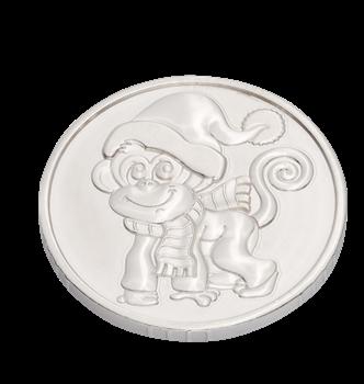 Монета изсеребра